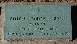 Edith <i>Jordan</i> Berg