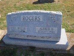 Mary Matilda Mattie <i>Porter</i> Rogers