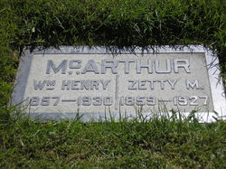 William Henry McArthur