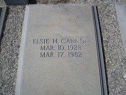 Elsie M. <i>Harvey</i> Cannon