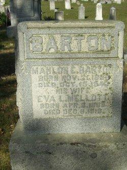 Eva Lenora <i>Mellott</i> Barton