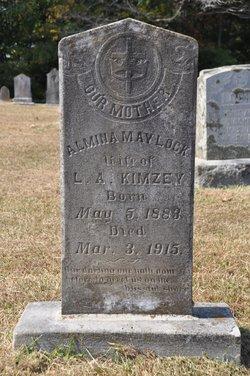 Almina May <i>Lock</i> Kimzey