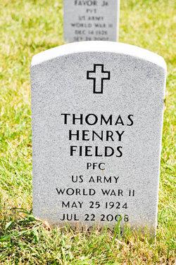 Thomas Henry Fields, Sr