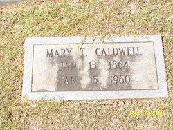 Mary Thomas Maime <i>Parker</i> Caldwell