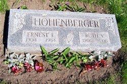 Ruth Violet <i>Hall</i> Hohenberger