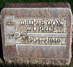 Madge <i>Cox</i> Morris