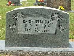 Ida Ophelia Bass