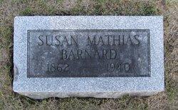 Susan <i>Mathias</i> Barnard