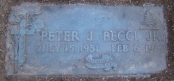 Peter Joseph Becci, Jr