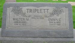 Emma Christine <i>Dahlgren</i> Beyer Triplett
