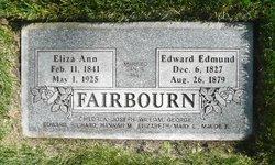 Edward Edmund Fairbourn
