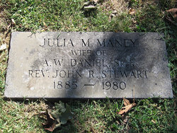 Julia May <i>Maney</i> Stewart