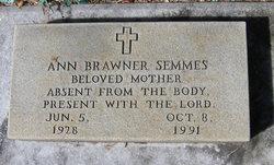 Ann <i>Brawner</i> Semmes