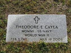 Theodore E Cayea