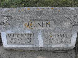 Mildred Caroline <i>Traveller</i> Olsen