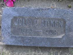 Julia Mina <i>Olsen</i> Aitken