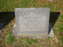 Sarah <i>Motte</i> Dawson