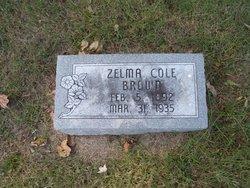 Zelma <i>Cole</i> Brown
