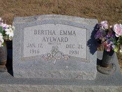 Bertha Emma <i>Britten</i> Alward