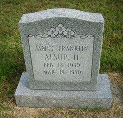 James Franklin Alsup, II