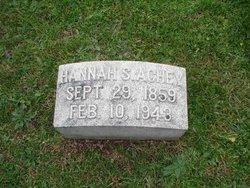 Hannah S. <i>Shimmel</i> Achey