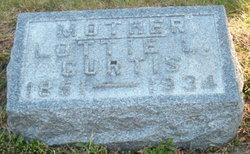 Charlotte Lottie <i>Letcher</i> Curtis
