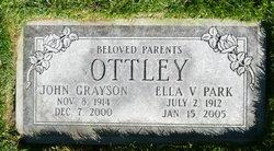 Ella V <i>Park</i> Ottley