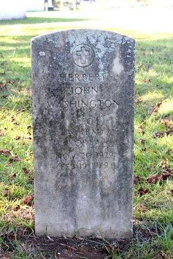 PFC Herbert John Washington