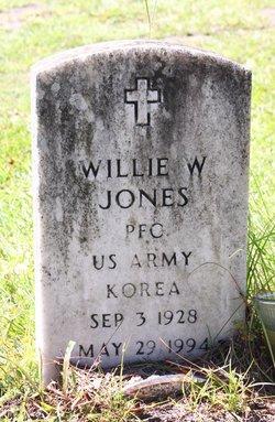 PFC Willie W. Jones