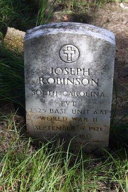 Pvt Joseph Robinson