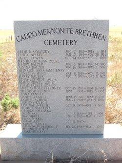 Caddo Mennonite Brethren Cemetery