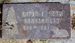 Antonio 'Tony' Aranzamendi