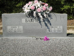 Pauline <i>Taylor</i> Barfield