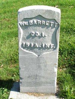 Pvt William Barrett