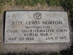 Roy Lewis Horton
