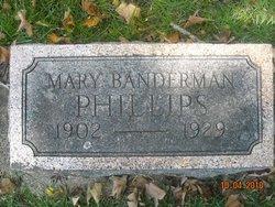 Mary <i>Banderman</i> Phillips