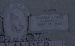 Norma Loree <i>Smith</i> Alexander