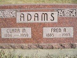 Clara May <i>Starkey</i> Adams