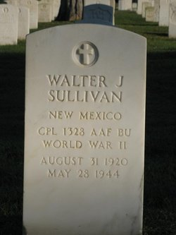 Walter J Sullivan