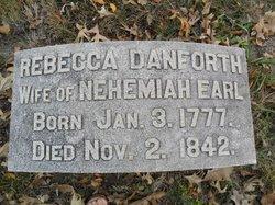 Rebecca <i>Danforth</i> Earl
