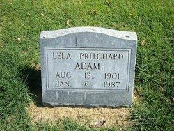 Lela <i>Pritchard</i> Adam