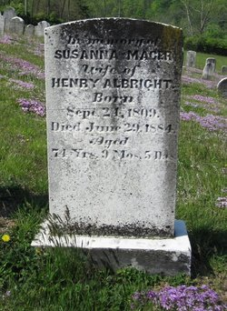 Susanna <i>Mager</i> Albright