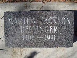 Martha Elizabeth <i>Jackson</i> Dellinger