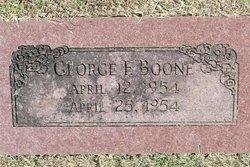 George F. Boone