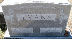 Lemuel Vaden Evans