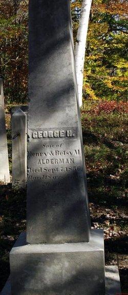 George H Alderman