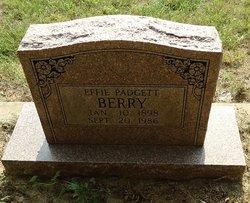 Effie <i>Padgett</i> Berry