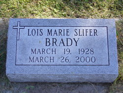 Lois Marie <i>Slifer</i> Brady