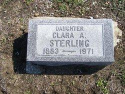 Clara A <i>Winterhalter</i> Sterling