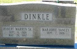 Marjorie <i>Yancey</i> Dinkle